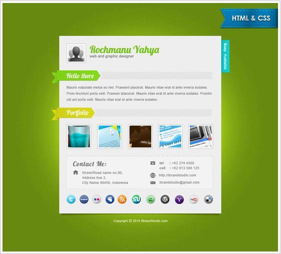 green_vcard